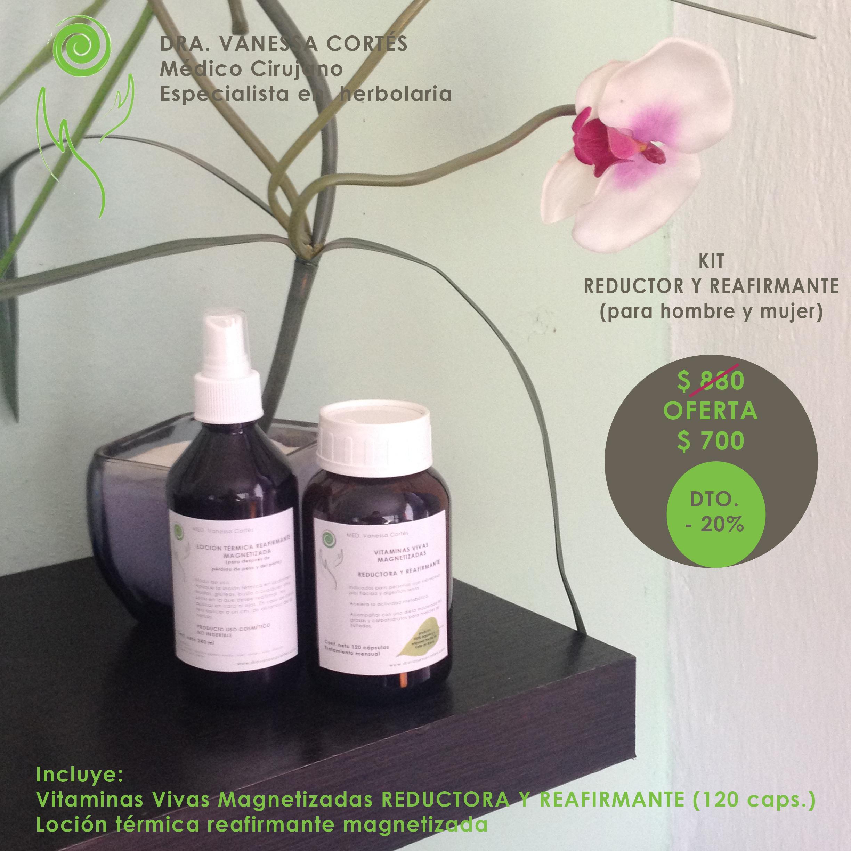 Kit Reductor y Reafirmante Natural – Dra. Vanessa Cortés